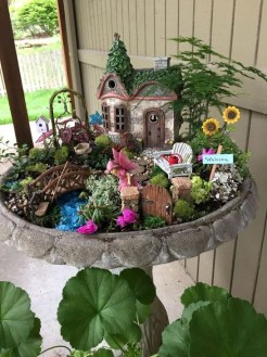 Brilliant DIY Fairy Garden Design Ideas 09