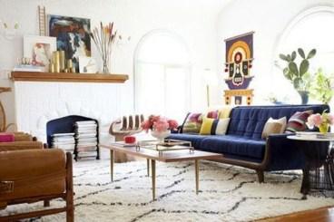 Comfy Colorful Sofa Ideas For Living Room Design 20