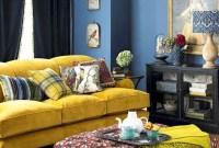Comfy Colorful Sofa Ideas For Living Room Design 22