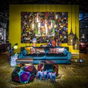 Comfy Colorful Sofa Ideas For Living Room Design 41