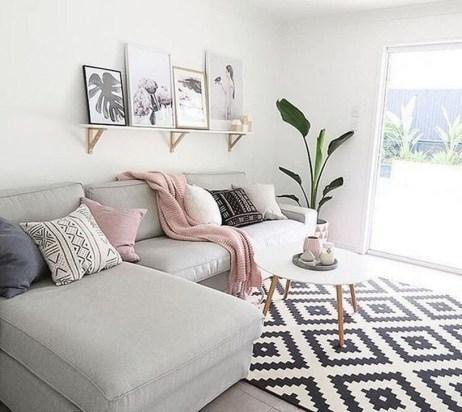 Comfy Colorful Sofa Ideas For Living Room Design 48