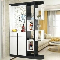 Cool Partition Living Room Ideas 05