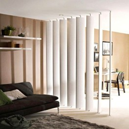 Cool Partition Living Room Ideas 09