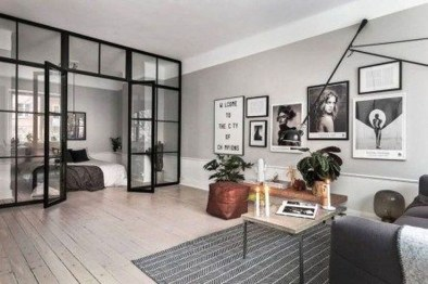 Cool Partition Living Room Ideas 10