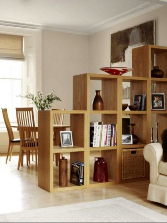 Cool Partition Living Room Ideas 14