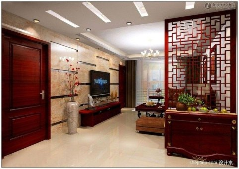 Cool Partition Living Room Ideas 18