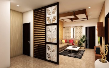 Cool Partition Living Room Ideas 25