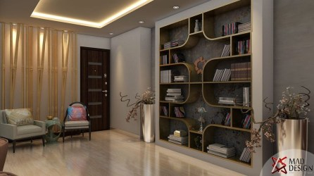 Cool Partition Living Room Ideas 32