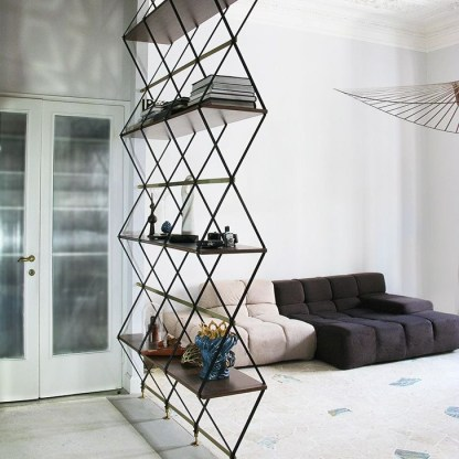 Cool Partition Living Room Ideas 34