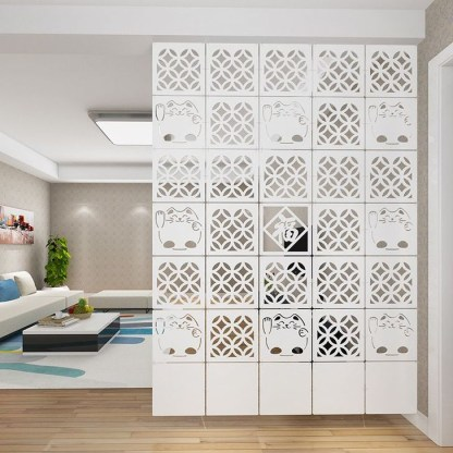 Cool Partition Living Room Ideas 36