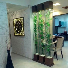 Cool Partition Living Room Ideas 42