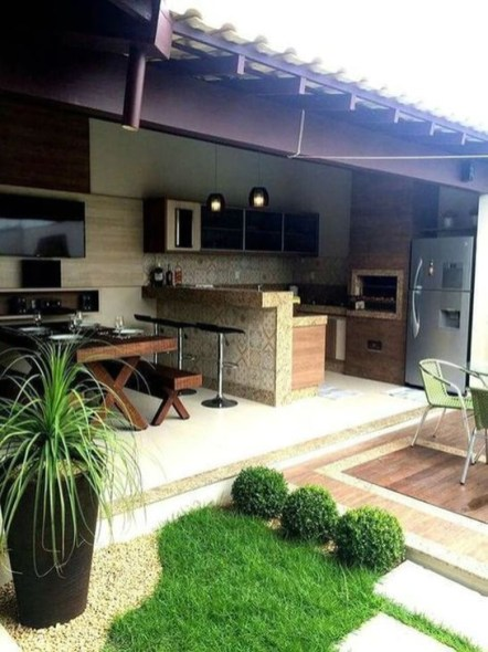 Cozy Outdoor Kitchen Design Ideas 04