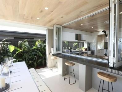 Cozy Outdoor Kitchen Design Ideas 35