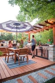 Cozy Outdoor Kitchen Design Ideas 41