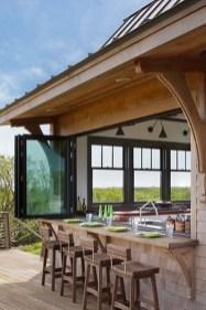 Cozy Outdoor Kitchen Design Ideas 43