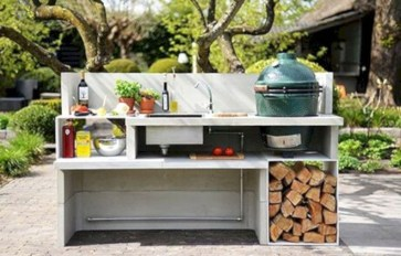 Cozy Outdoor Kitchen Design Ideas 51