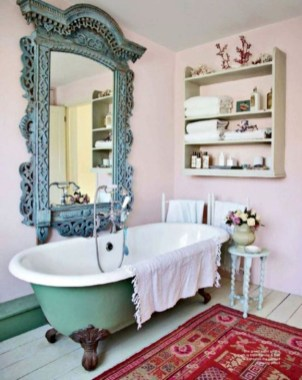 Cute Shabby Chic Bathroom Design Ideas 06