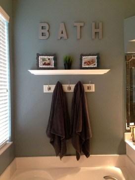 Cute Shabby Chic Bathroom Design Ideas 16