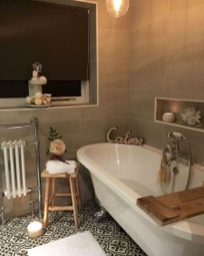 Cute Shabby Chic Bathroom Design Ideas 31