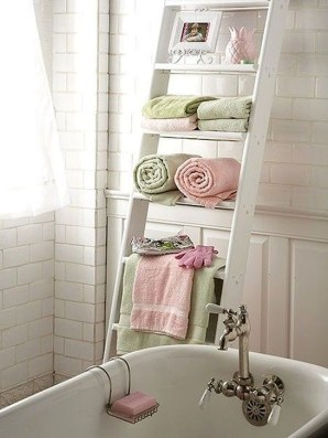 Cute Shabby Chic Bathroom Design Ideas 33