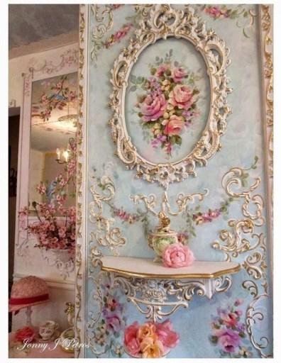 Cute Shabby Chic Bathroom Design Ideas 38