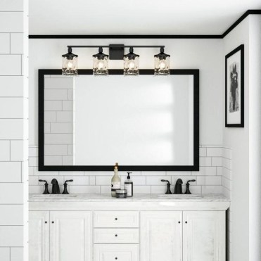 Fascinating Bathroom Vanity Lighting Design Ideas 16