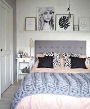 Genius Rustic Scandinavian Bedroom Design Ideas 02