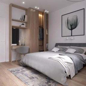 Genius Rustic Scandinavian Bedroom Design Ideas 21