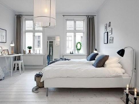 Genius Rustic Scandinavian Bedroom Design Ideas 24