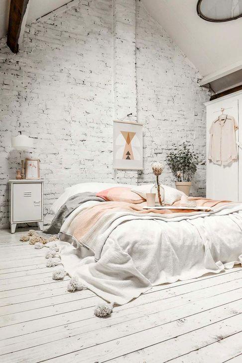 Genius Rustic Scandinavian Bedroom Design Ideas 32