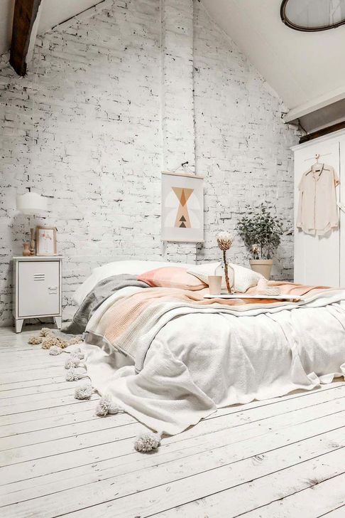 Genius Rustic Scandinavian Bedroom Design Ideas 32