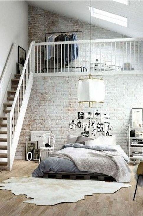 Genius Rustic Scandinavian Bedroom Design Ideas 33