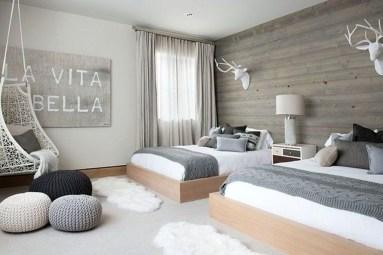 Genius Rustic Scandinavian Bedroom Design Ideas 34