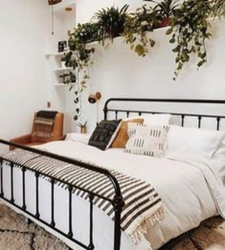 Genius Rustic Scandinavian Bedroom Design Ideas 41