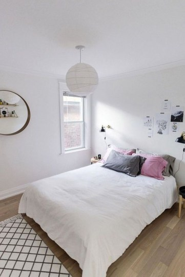 Genius Rustic Scandinavian Bedroom Design Ideas 43