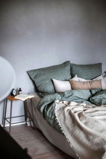 Genius Rustic Scandinavian Bedroom Design Ideas 44