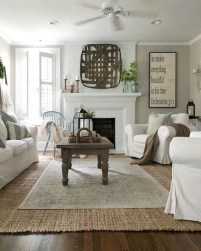Gorgeous Farmhouse Design Ideas For Living Room 13