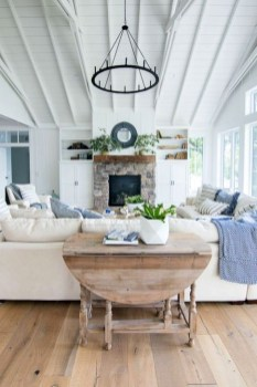 Gorgeous Farmhouse Design Ideas For Living Room 15