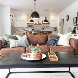 Gorgeous Farmhouse Design Ideas For Living Room 20