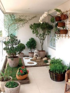Impressive Balcony Garden Design Ideas 13