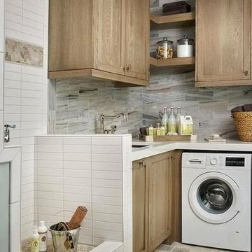 Innovative Laundry Room Design With French Country Style 26