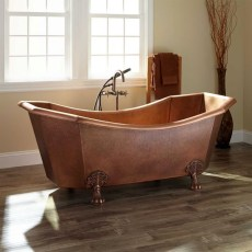 Marvelous Wooden Bathtub Design Ideas To Get Relax 31