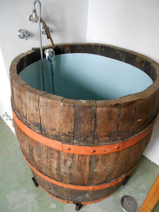 Marvelous Wooden Bathtub Design Ideas To Get Relax 33