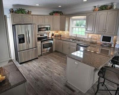 Minimalist Small White Kitchen Design Ideas 42