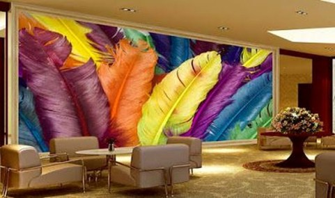 Perfect 3D Wallpapaer Design Ideas For Living Room 04