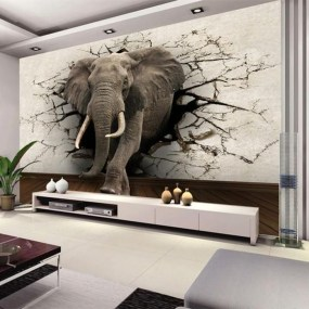 Perfect 3D Wallpapaer Design Ideas For Living Room 05