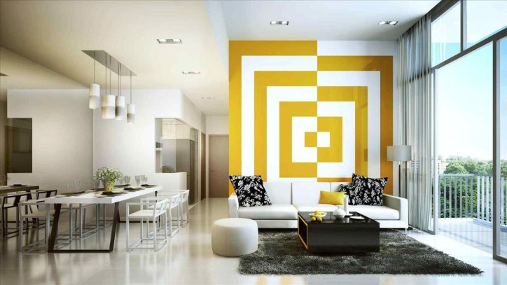 Perfect 3D Wallpapaer Design Ideas For Living Room 11