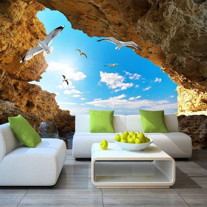 Perfect 3D Wallpapaer Design Ideas For Living Room 20