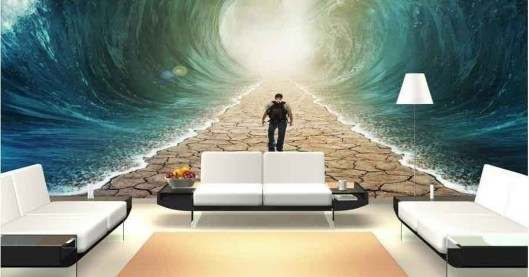 Perfect 3D Wallpapaer Design Ideas For Living Room 25