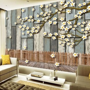 Perfect 3D Wallpapaer Design Ideas For Living Room 30